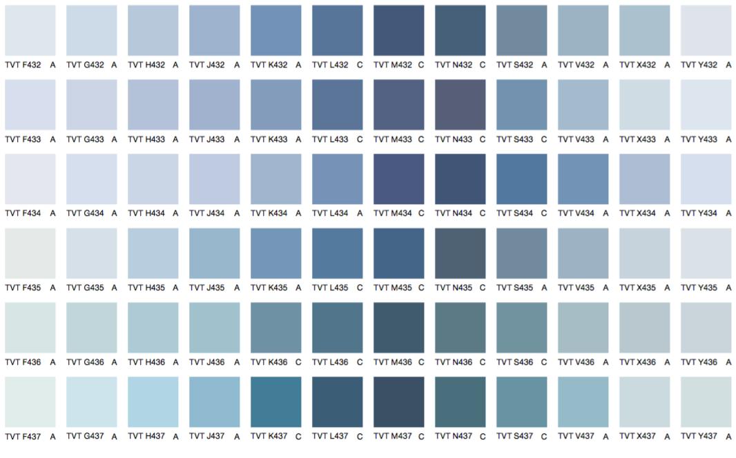 Синие цвета 4