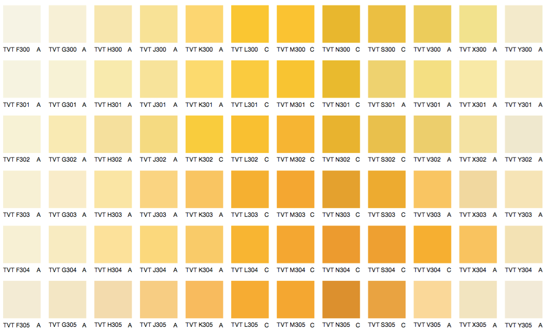 Желтые и оранжевые цвета 1