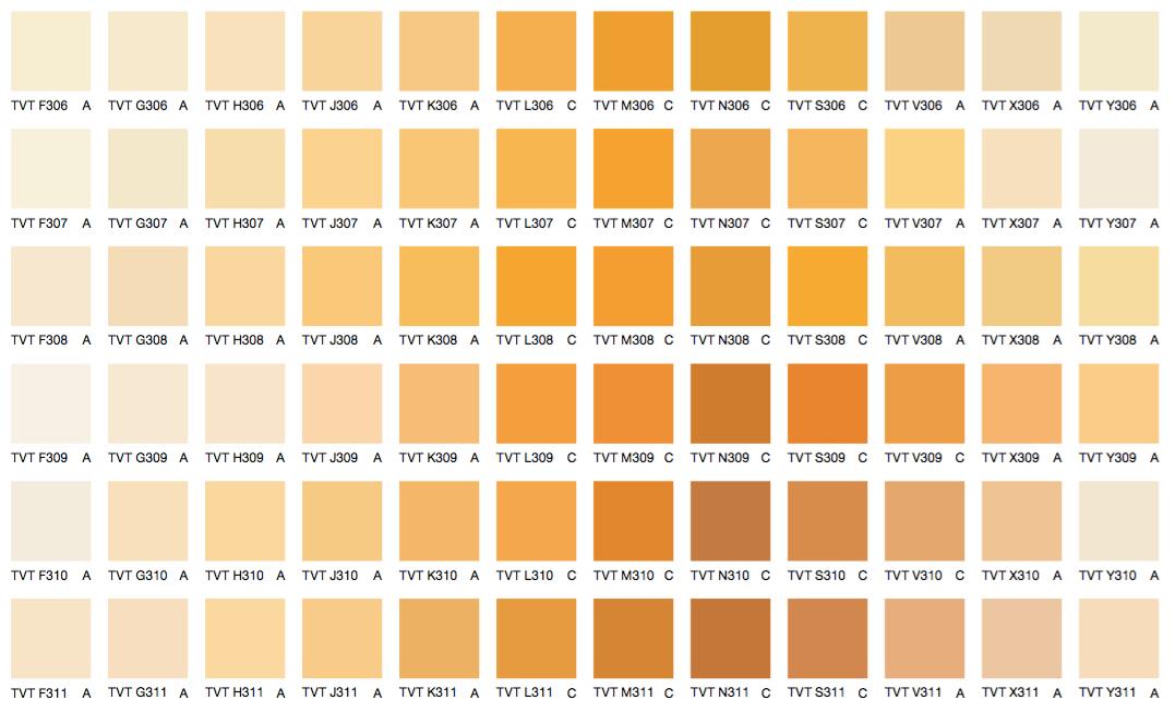 Желтые и оранжевые цвета 2