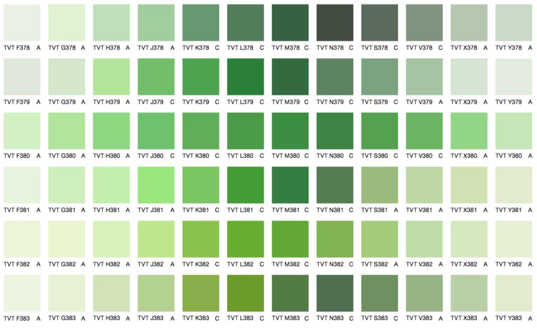 Зеленые цвета 3