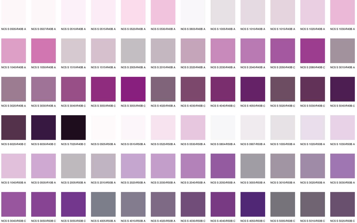 Фиолетовые цвета 1