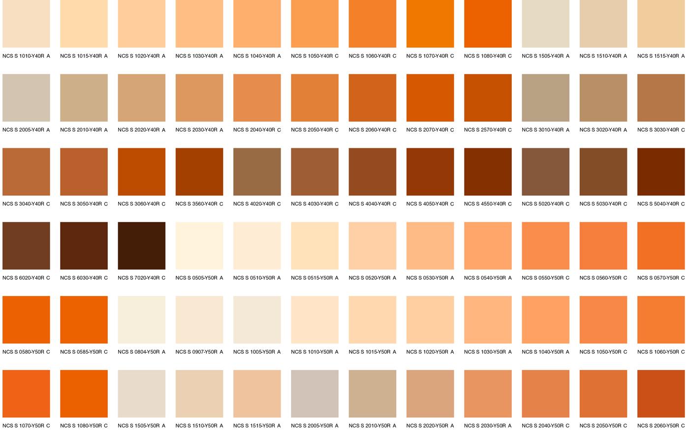Оранжевые цвета 2