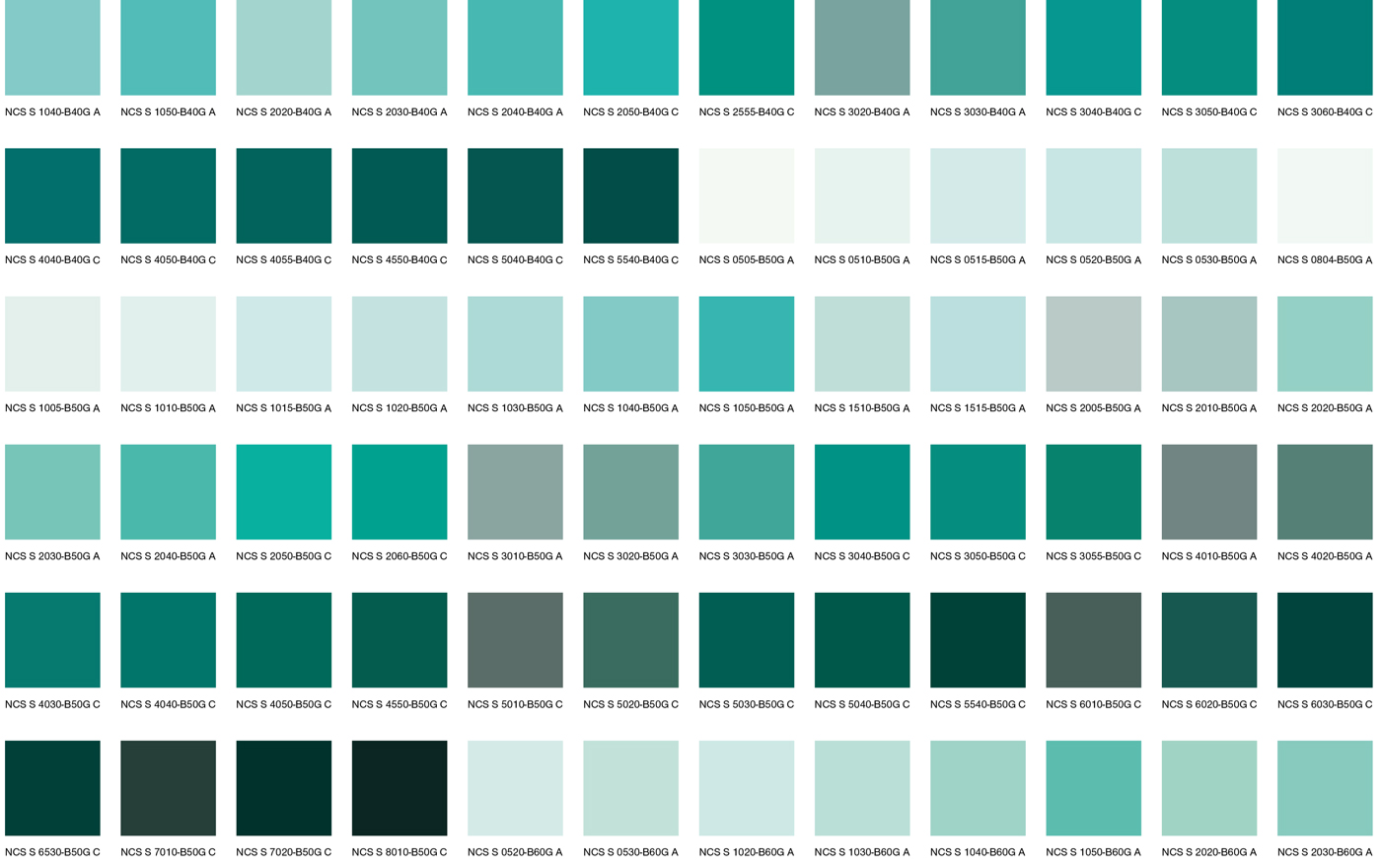 Сине-зеленые цвета 2