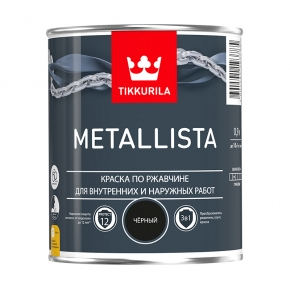 Metallista черный 0,9 л