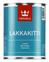 Быстросохнущая алкидная шпатлевка Lakkakitti 1 л