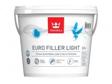 Интерьерная легкая шпатлевка Euro Filler Light 0,9 л