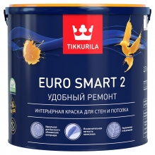 Краска Tikkurila Euro Smart 2 2,7 л