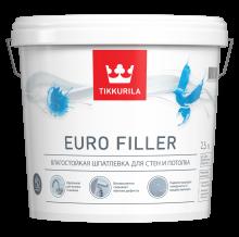 Интерьерная влагостойкая шпатлевка Euro Filler 2,5 л