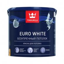 Краска Tikkurila Euro White 2,7 л