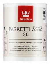 Водоразбавляемый быстросохнущий лак для пола Parketti-Assa 20 1 л