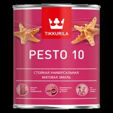 Интерьерная алкидная краска без резкого запаха Pesto 10 0,9 л A