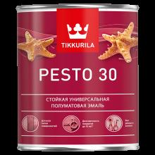 Интерьерная алкидная краска без резкого запаха Pesto 30 0,9 л A