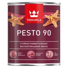 Интерьерная алкидная краска без резкого запаха Pesto 90 0,9 л A