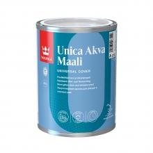Акрилатная краска для дверей и оконных рам Unica Akva 0,9 л A