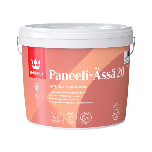 Интерьерный акрилатный лак Paneeli-Assa 20 EP п/мат 2,7 л
