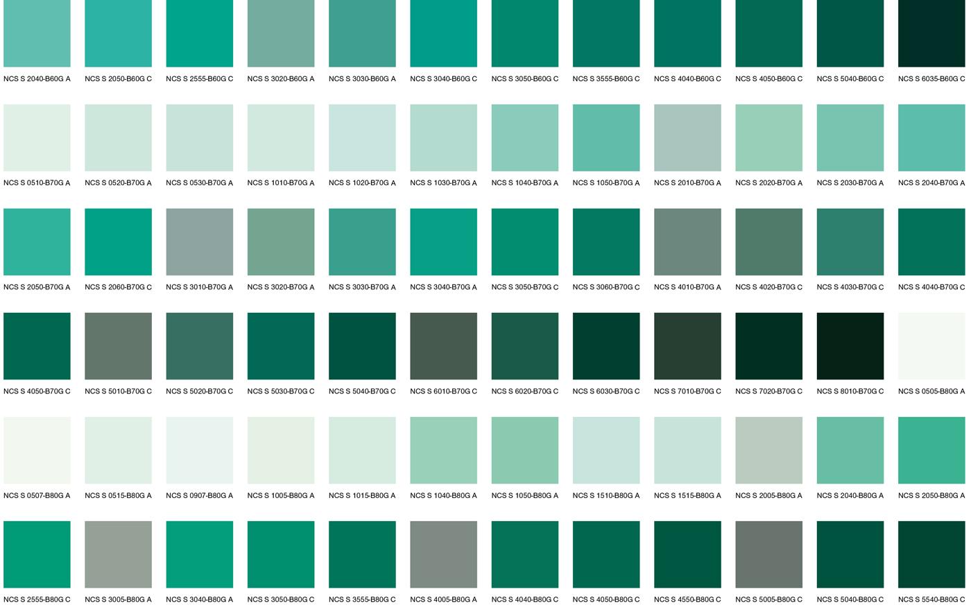 Зеленые цвета 1