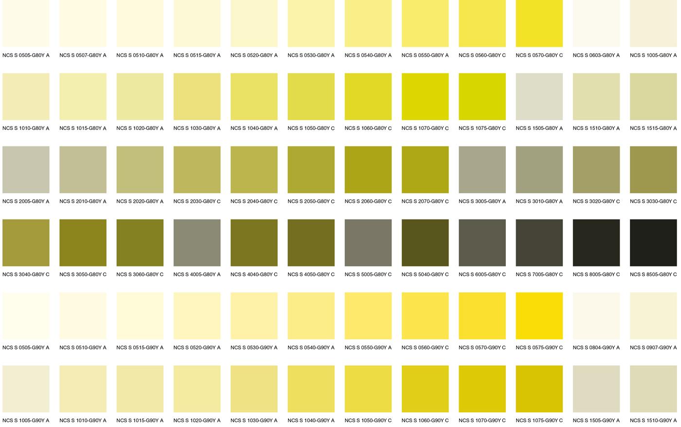 Желтые цвета 1